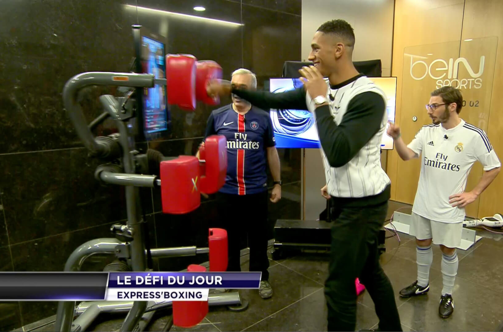 Animation émission tv bein sports expresso-1 - Hitech Events